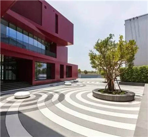 天台校园居住区景观公司