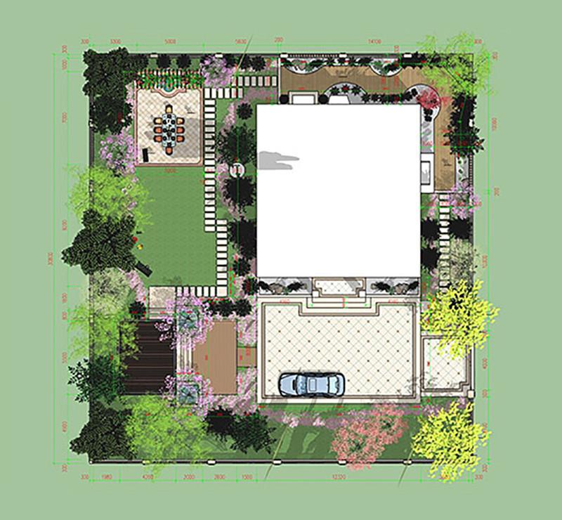 平面尺寸 - 台州景观设计