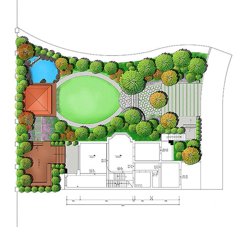 总平面 - 台州景观设计