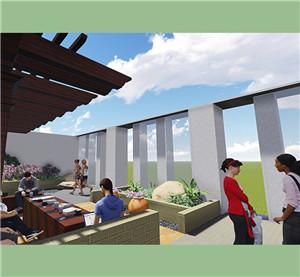 天台庭院设计施工